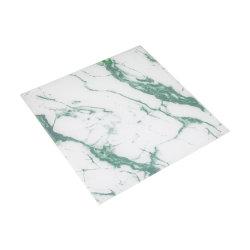 Marmoreffekt angestrichenes ausgeglichenes Glas für Gebäude