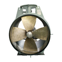 Customized Four-Bladed Marine Bow Thruster / Thruster de túnel
