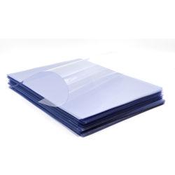 Antiscratch 250 microns feuille transparente en PVC rigide pour boîtes pliantes