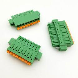 피치 3.50mm 녹색 전기 플러그 연결 금관 악기 끝 구획