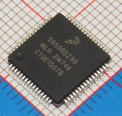 60K FLASH 4K RAM EEPRO MC9S08DZ60AMLH