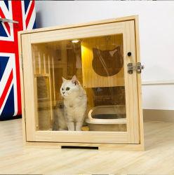 贅沢な木製ペット純木猫の家