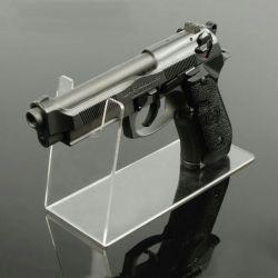 コレクションの表示のための透過アクリルのピストル銃の立場