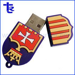 El mejor precio PVC personalizadas para el don de la unidad Flash USB.