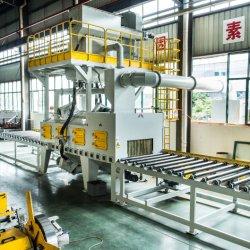 Китай Shot Blast машин производителя и поставщика - Mayflay обеспечивают роликовый конвейер дробеструйная очистка машины высокой Qaulity специализированных и стандартных систем с