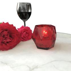 Vela de vidro de Natal personalizado de vidro potes de suporte para velas castiçais velas de líquidos