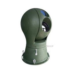 Gyro embarqués Stablizer double caméra PTZ du spectre d'imagerie thermique pour la sécurité du port