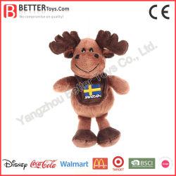 Рождественский подарок для продвижения новой конструкции Мягкие плюшевые игрушки мини олени игрушка
