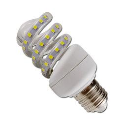 LED 12W Bombilla de ahorro de energía llena de luces LED en espiral B22 de iluminación LED E27