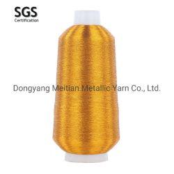 Filato cucirino 100% del filato metallico del poliestere per gli accessori dell'indumento