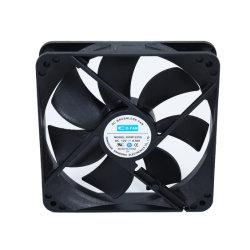 120x120x25mm 12V 24V 120mm ordinateur DC 12025 Ventilateur de refroidissement faible bruit du ventilateur de refroidissement de lumière à LED