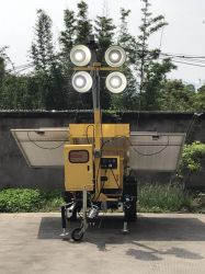 환경 친절한 태양 강화된 휴대용 LED 등대 Interchangable 및 재충전용 젤 건전지 청결한 에너지 절약