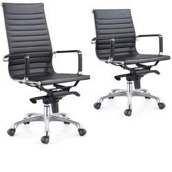 3 anni di garanzia Visitor Leather Office Sala riunioni Sedie scrivania