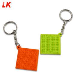 Factory Custom Design Promotional Cute Soft PVC Sleutelhangers Sleutelhangers