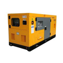 Wassererkühlung-leises schalldichtes Kabinendach-Dieselgenerator durch Lovol