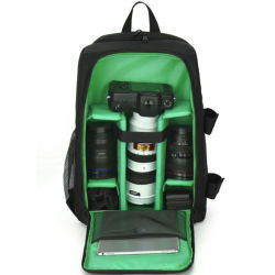 Digital à prova de fotografia DSLR Estofadas Mochila Câmera Câmera Multifuncional Bag para viajar ao ar livre