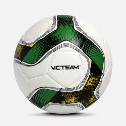 Custom PU летящий футбольный мяч футбольный мяч для школьных учебных
