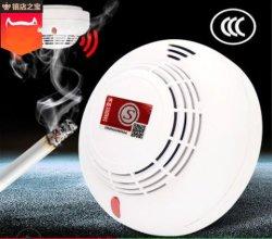 Photoelectronic Alarm van de Detector van de Rook van de Brand met de Verre Standalone Batterij van de Indicator