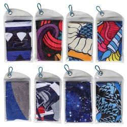Het hete Verkopende KoelMateriaal van de Polyester van Microfiber van de Handdoek met de Zak van het Netwerk