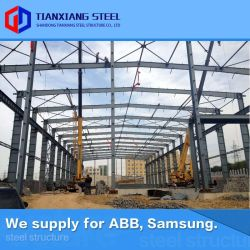 Diseño de alto nivel asequible la estructura de celosía de acero