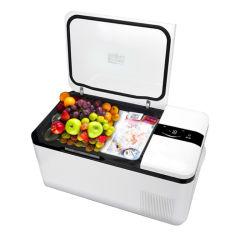 Nevera portátil de 12 voltios Warmer congelador del refrigerador Mini para vehículo