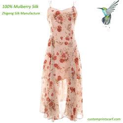 ヨーロッパデザイン流行の夏の絹の服