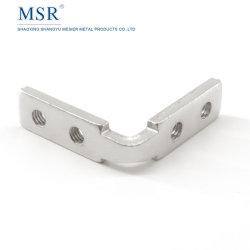 Dentro de un fuerte soporte de esquina 30h Soporte Estante de acero para la ranura 8 de aluminio (3030)