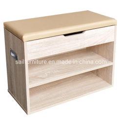 La nueva madera de roble Zapata Two-Tier moderno Simple archivador con cojín
