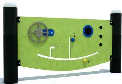 인기 있는 PE 보드 퍼즐 게임 스몰 하우스 기차 도시 테마 장난감 유치원 놀이공원