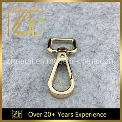 16мм металлический карабин Кольцо цепочки ключей Закрепите поворотный крюк мешок плечевой лямки ремня безопасности фиксирующий крюк