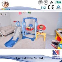 Umweltfreundlicher faltbarer Kind-Plättchen-Spielplatz des Dinosaurier-En71 für Kind-Spielplatz-Plättchen-Schwingen-Kind-Plastikplättchen
