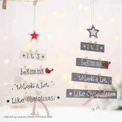 Il natale perfezionamento le decorazioni Pendant degli ornamenti di goccia della lettera dell'albero di Natale