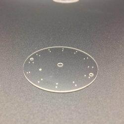 고품질 공장 시계 접시 사파이어 결정 대 최고 서비스 및 저가를 가진 무기물 사파이어 유리