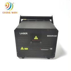 Projecteur de la lumière laser 5W Full Animation de couleur de la lumière laser pour Disco attrayant de la lumière laser /Faisceau de la publicité/Logo/