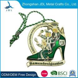Haute qualité de l'émail métalliques personnalisées pour cadeau de la médaille d'attribution de souvenirs de la Chine de l'émail personnalisé Demi-marathon de l'exécution de la Médaille de manifestations sportives (363)
