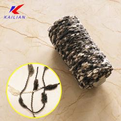Новизна специальной пряжи, сдобное спицы пряжа, нейлон полиэстер Pompon пряжа