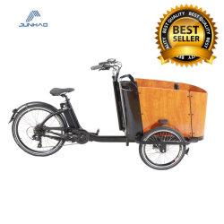 36V 250W Driewieler Met drie wielen van de Fiets van de Lading van Bakfiets de Elektrische Gemotoriseerde voor Levering