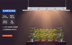 Super Bright jardin intérieur de plantes de serre 400W 640W 800W croître lumière LED à spectre complet