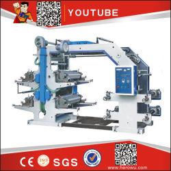 O rolo a rolo Pape Rbag Mini 6 cores intermitentes Flexo Preço da máquina de impressão de etiquetas