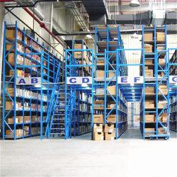 Fabricado na China Steel Depósito de metal prateleiras de armazenagem com Mezzanine definitivo