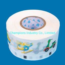 工場供給の卸売のおむつの原料BOPPの正面テープ使い捨て可能な魔法のティッシュのFronatlテープ