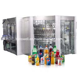 نكهات مكربنة شراب صودا حفظ المياه آلة لوضع الحيوانات الأليفة زجاجة زجاجية