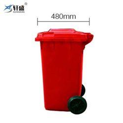 120L HDPE 폐용기 휴지통, 게시물용 휴지통