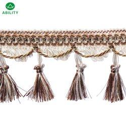 Qualitäts-heiße Verkaufs-Vorhang-Troddel-Franse-Zutat