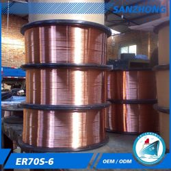 0.6mm 5kg/Spool 0.6mm 1kg/Spool Er70s-6の溶接ワイヤ