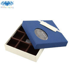 Het Stijve Vakje van de Gift van het Koekje van de Chocolade van het Document van de Druk van de compensatie