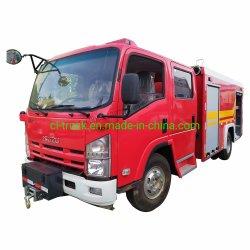 Хорошее качество Isuzu 700p 4000л 3000 литров воды Rescue Fire погрузчика