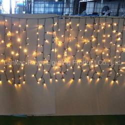 IP65 étanche extérieur LED feux de rideau pour la décoration de Noël