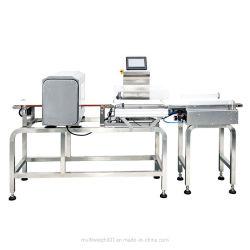 De volledige Automatische Detector van het Metaal met de Weger van de Controle voor Voedsel