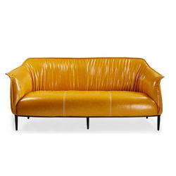 Nouvelle conception de châssis en acier canapé couvrent ensemble canapé en cuir (SZ-SF3665-3)